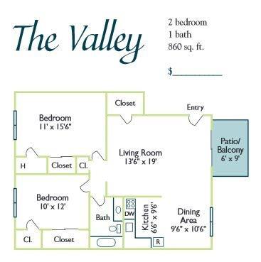 The Valley Floor Plan 2